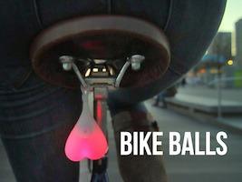 Bike Balls cykellygte hadegave