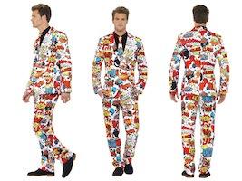 Grimt jakkesæt